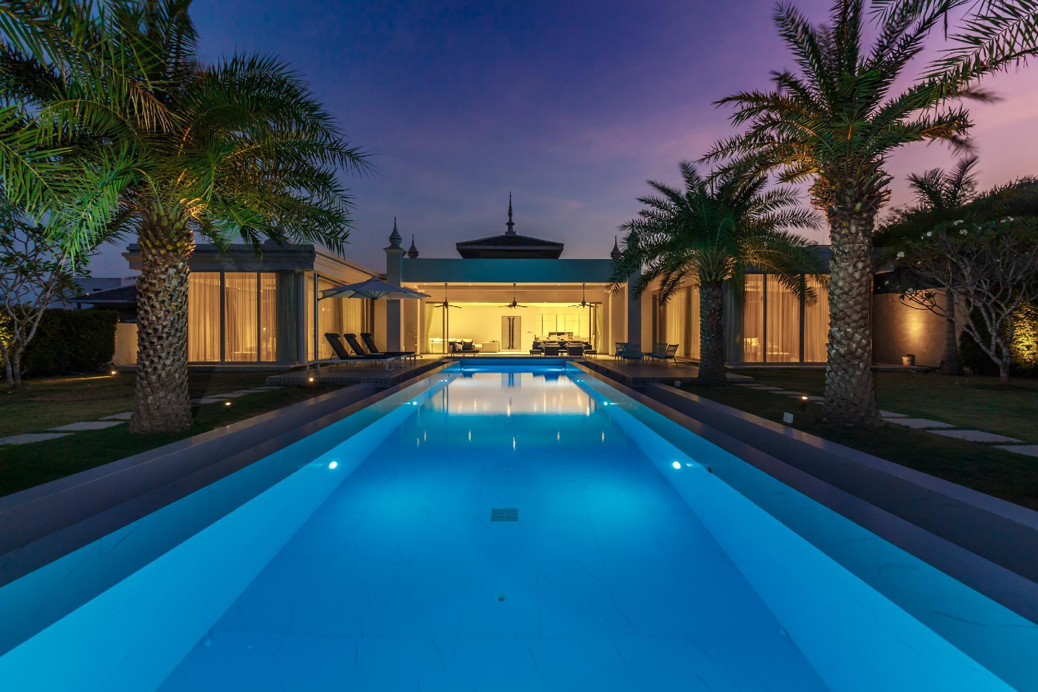Gatsby villa, massive private pool villa in Rawai วิลลา 5 ห้องนอน 5 ห้องน้ำส่วนตัว ขนาด 600 ตร.ม. – หาดราไวย์