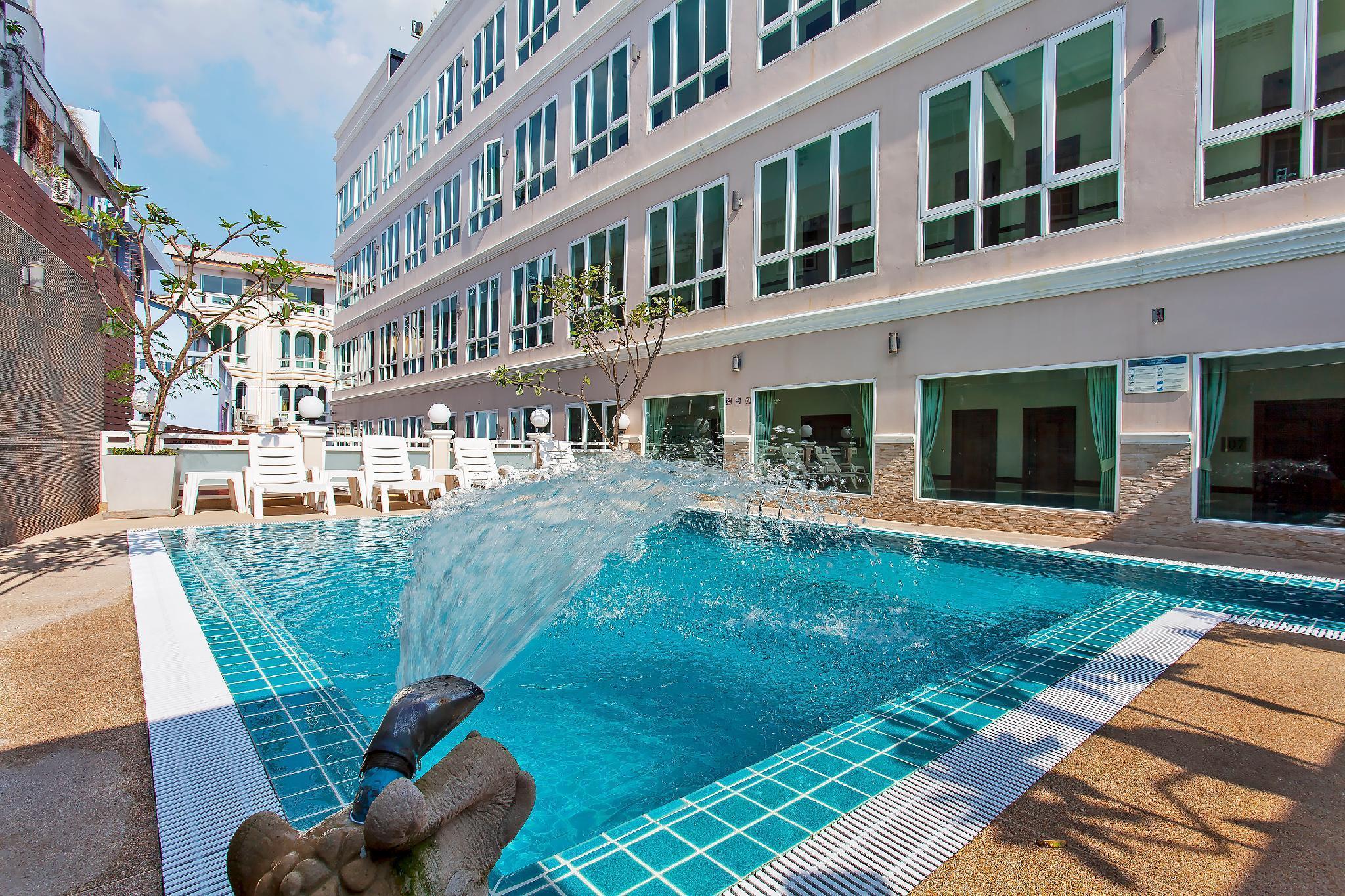 Purple Sky Resort | 18BR w Pool & Rooftop Lounge วิลลา 18 ห้องนอน 18 ห้องน้ำส่วนตัว ขนาด 1100 ตร.ม. – หาดจอมเทียน