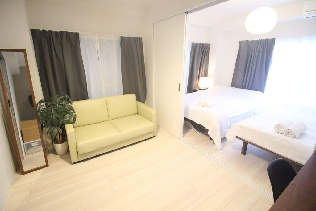 US42 Yamanote Line Cozy Two Bedroom Apartment
