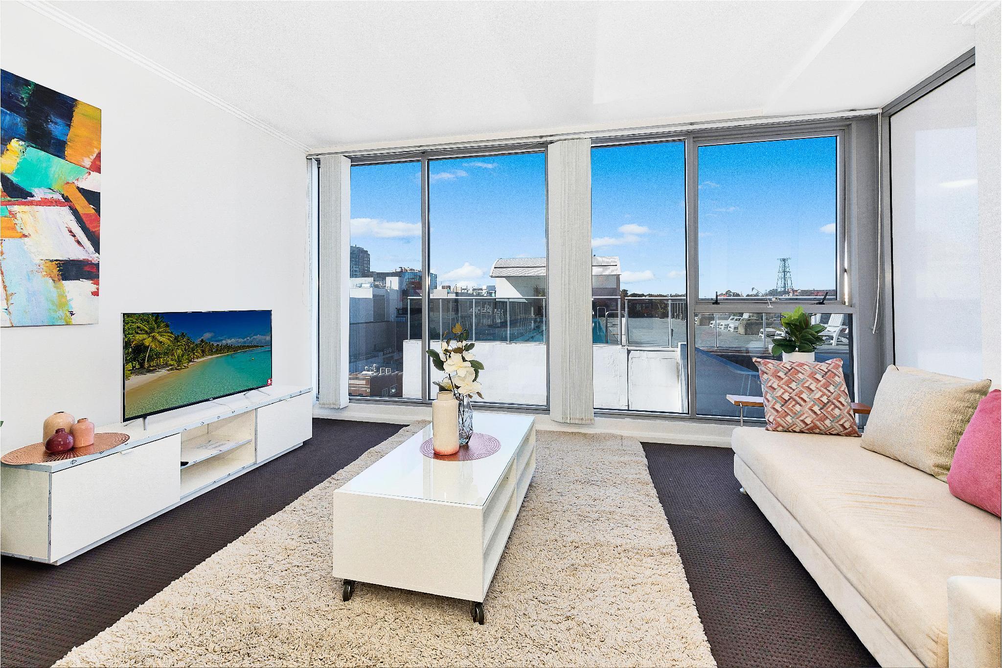 Contemporary Beach Side Apartment Living