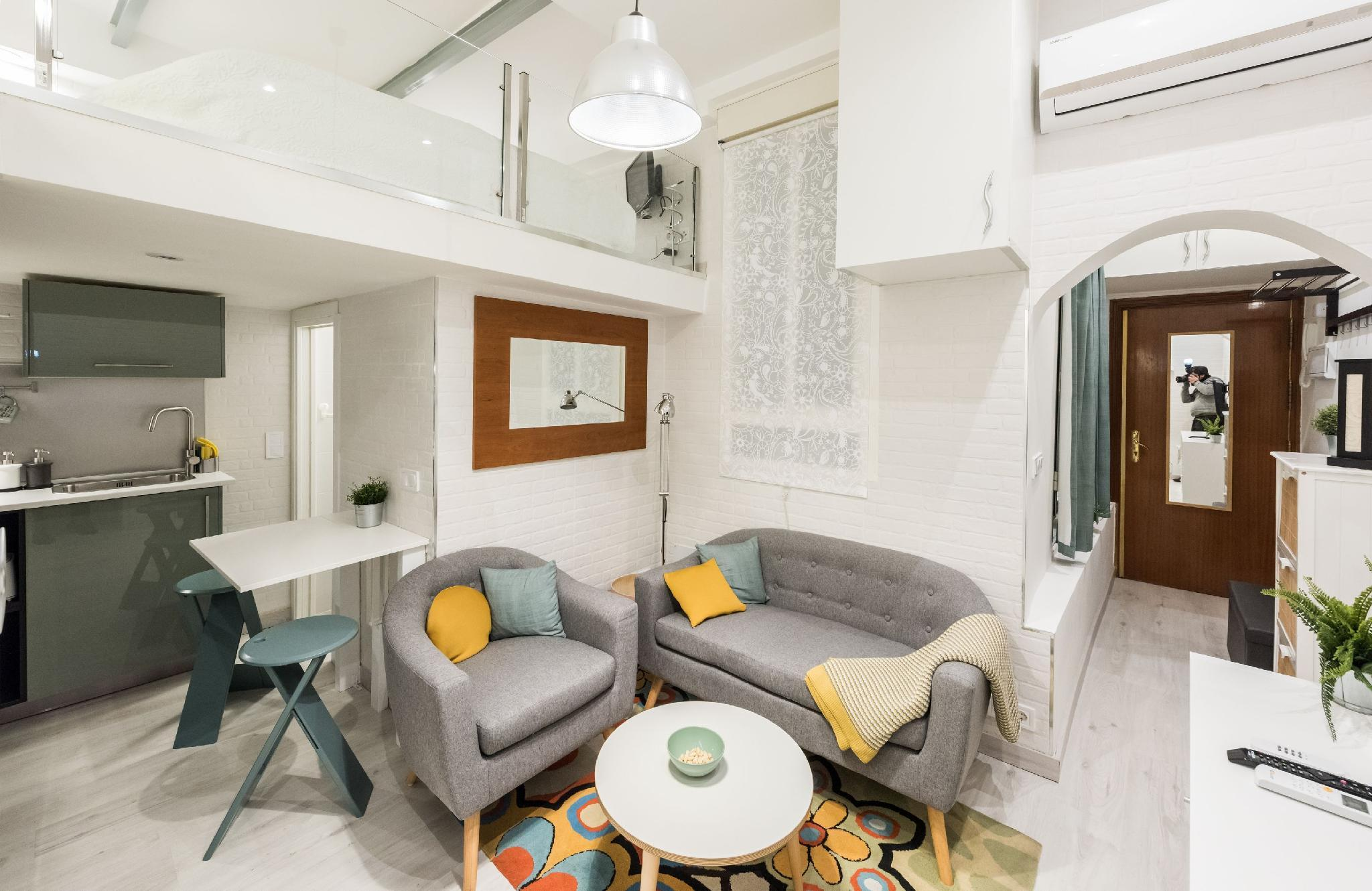 Apartamento Gran Via Leganitos