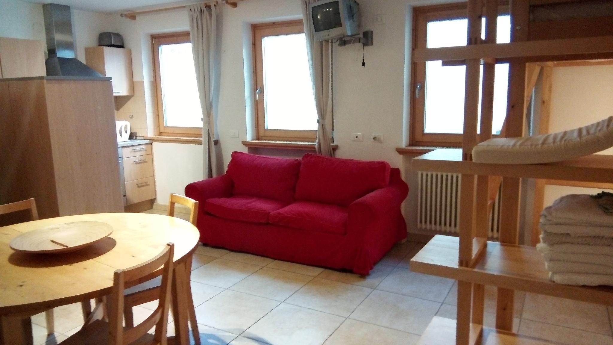 Cosy Studio Apartment In Chalet In Livigno