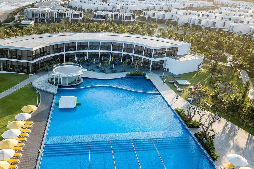 3BR Luxury Villa Oceanami Villas And Beach Club