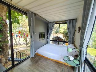 Serene Backyard Riverfront 1BR/Room No.2 วิลลา 1 ห้องนอน 1 ห้องน้ำส่วนตัว ขนาด 15 ตร.ม. – ริมแม่น้ำเชียงใหม่