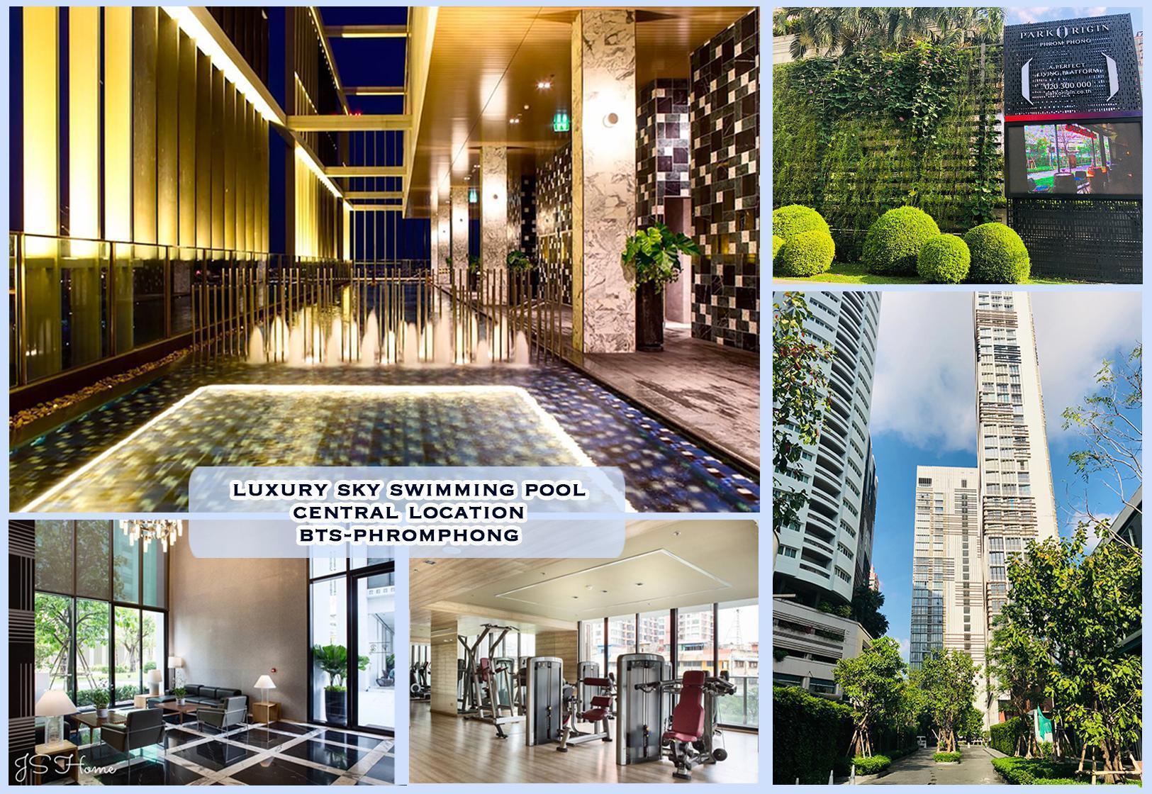 CozyStudio at BTS Phromphong pool&gym Park24 อพาร์ตเมนต์ 1 ห้องนอน 1 ห้องน้ำส่วนตัว ขนาด 30 ตร.ม. – สุขุมวิท