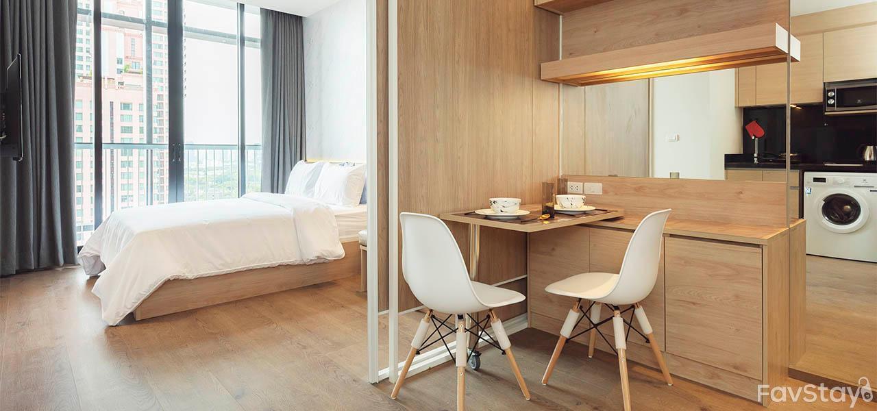 Cloud Pool , 1BR Park24 BTS Phrom Phong อพาร์ตเมนต์ 1 ห้องนอน 1 ห้องน้ำส่วนตัว ขนาด 30 ตร.ม. – สุขุมวิท