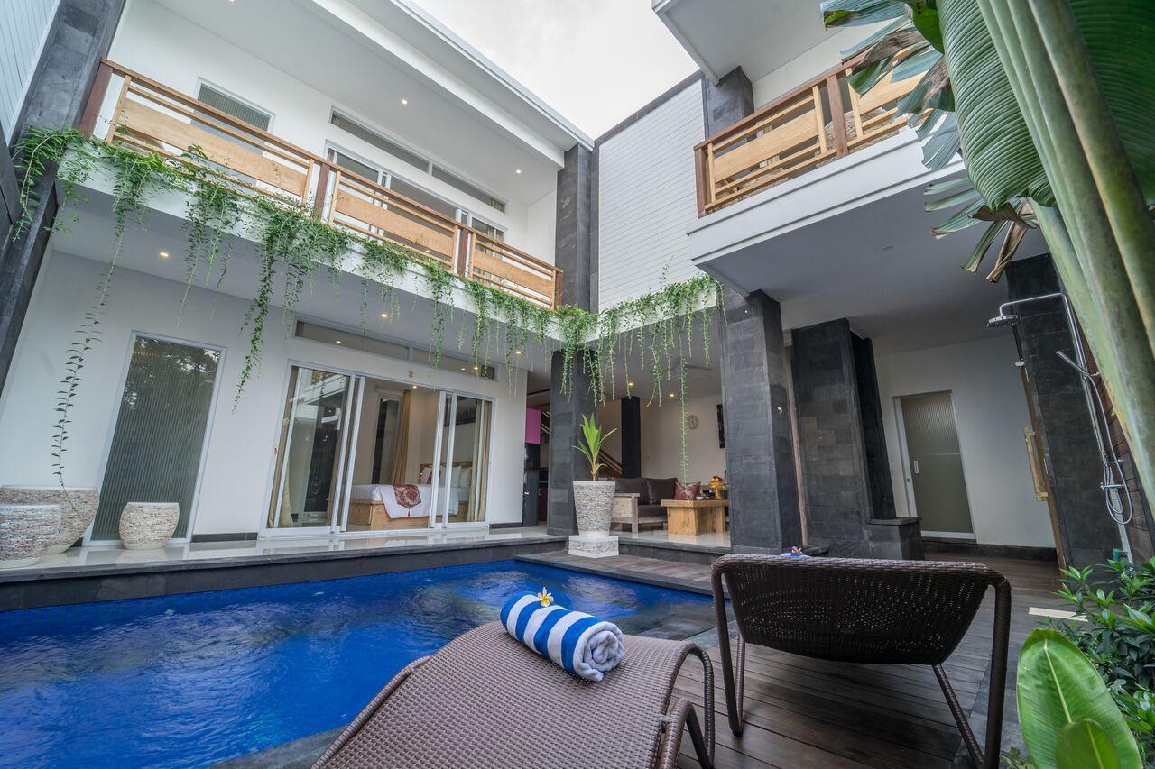 Suite 2BDR Villa With Pool At Legian