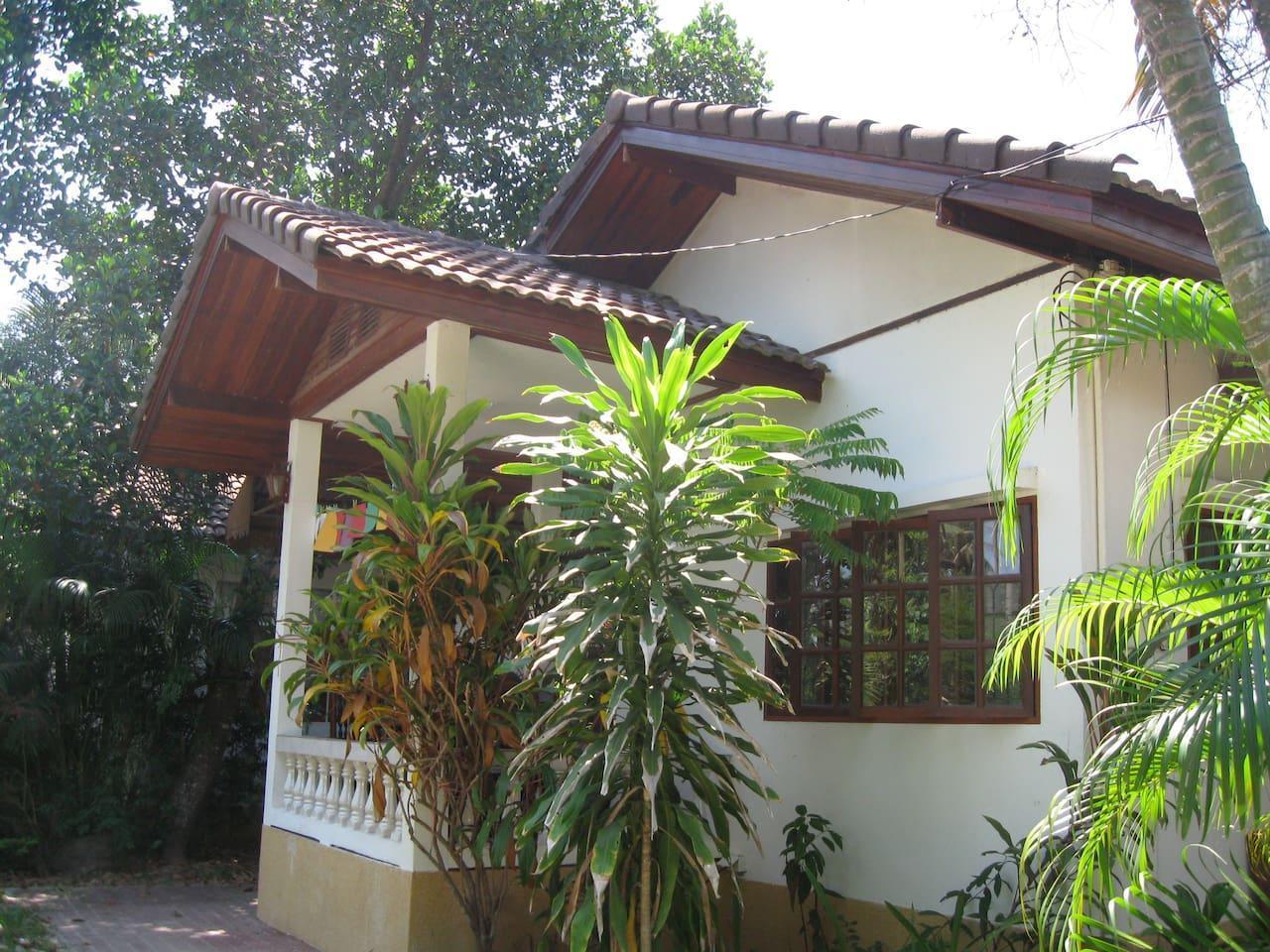 Bamboo Gardens #3 (2 Bedroom/1 Single) บ้านเดี่ยว 2 ห้องนอน 1 ห้องน้ำส่วนตัว ขนาด 70 ตร.ม. – แม่น้ำ