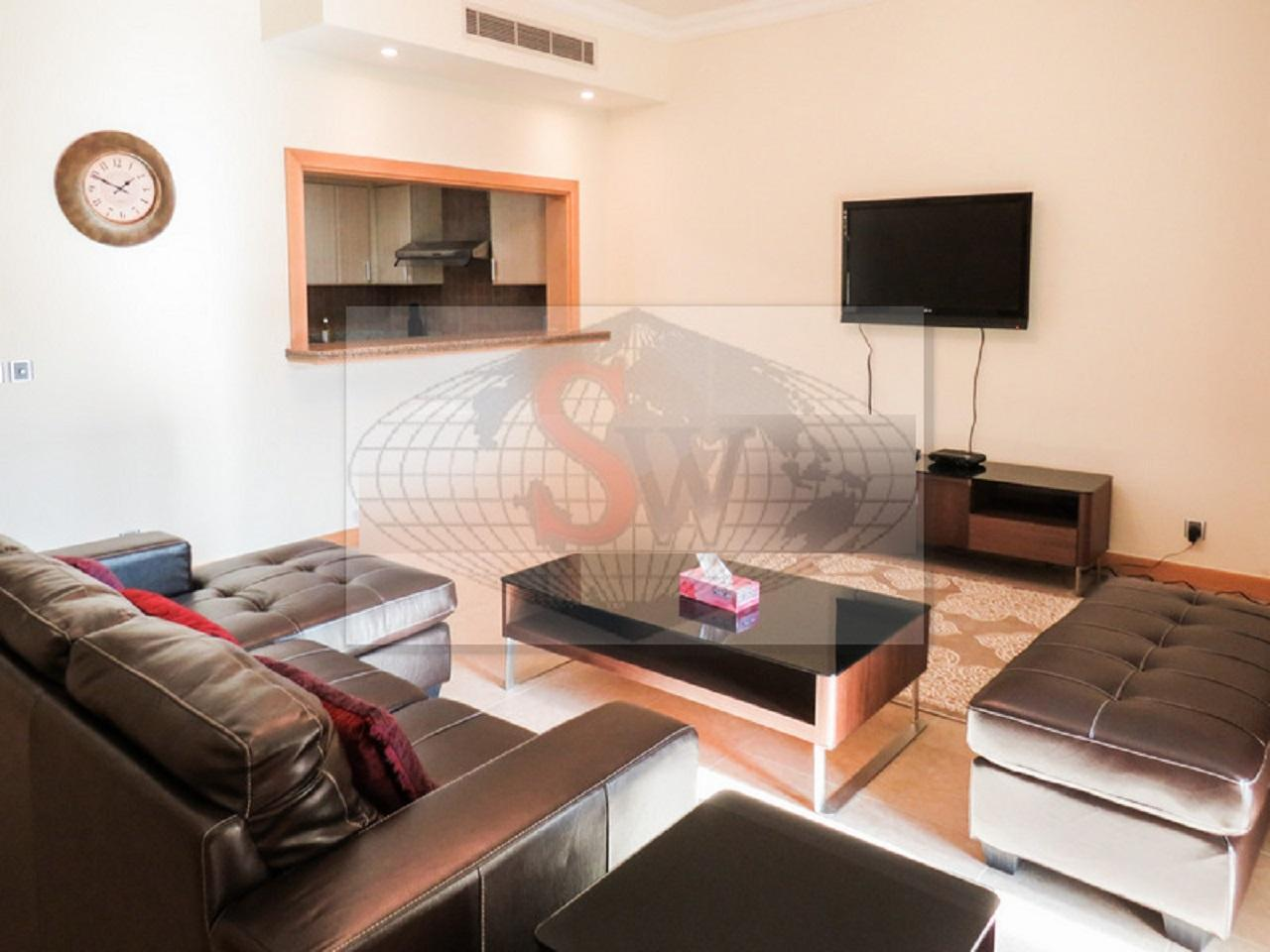 2BR Service Apartment With Road View