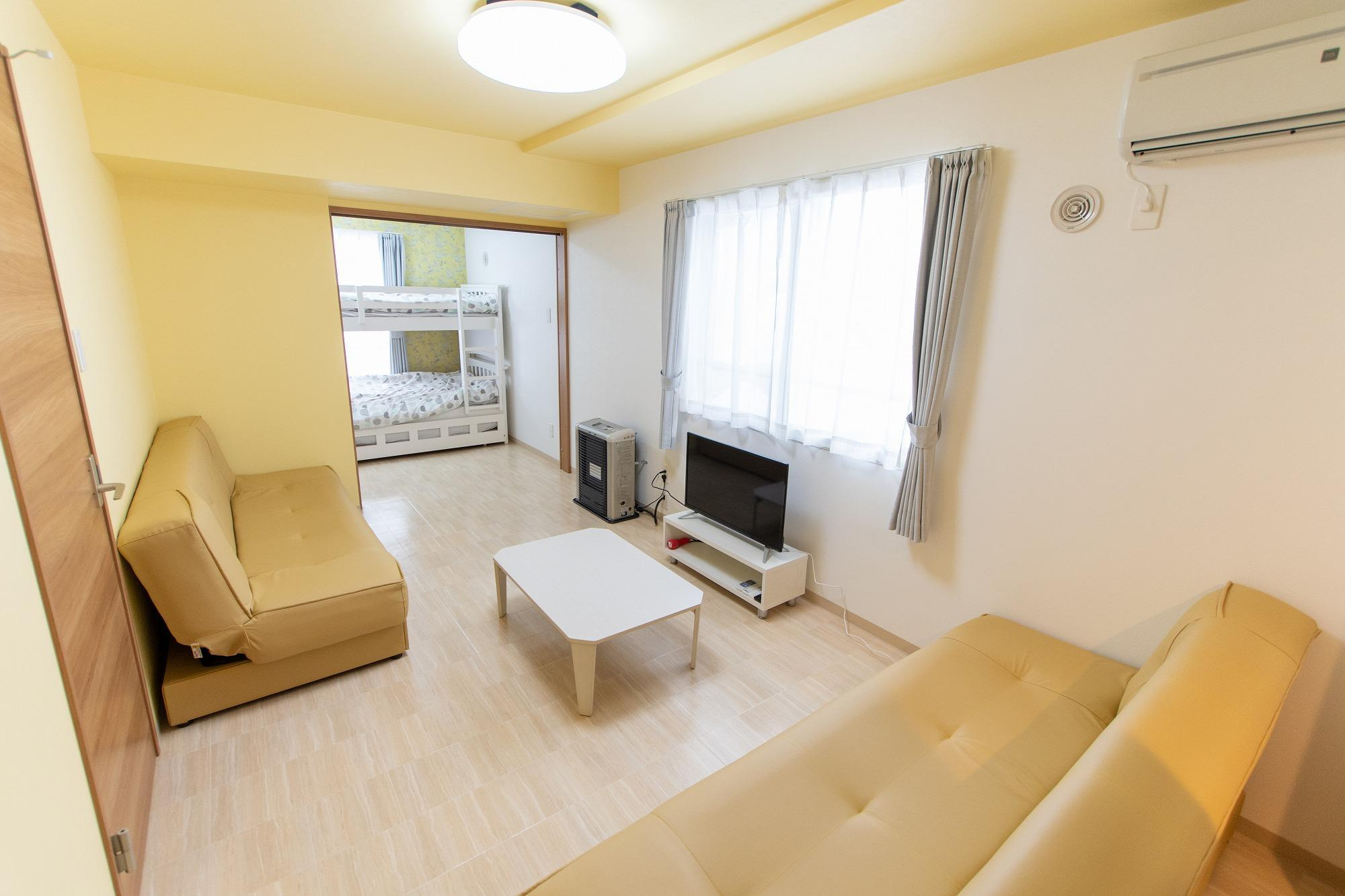 SP05 Susukino Spacious Room For 5people Wifi