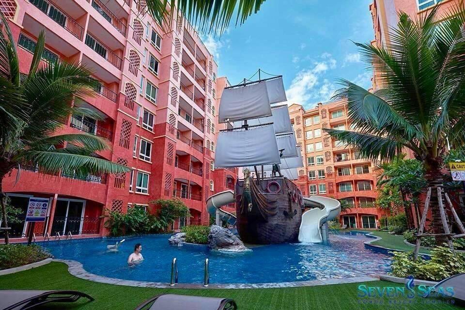 seven sea condo อพาร์ตเมนต์ 1 ห้องนอน 1 ห้องน้ำส่วนตัว ขนาด 27 ตร.ม. – หาดจอมเทียน