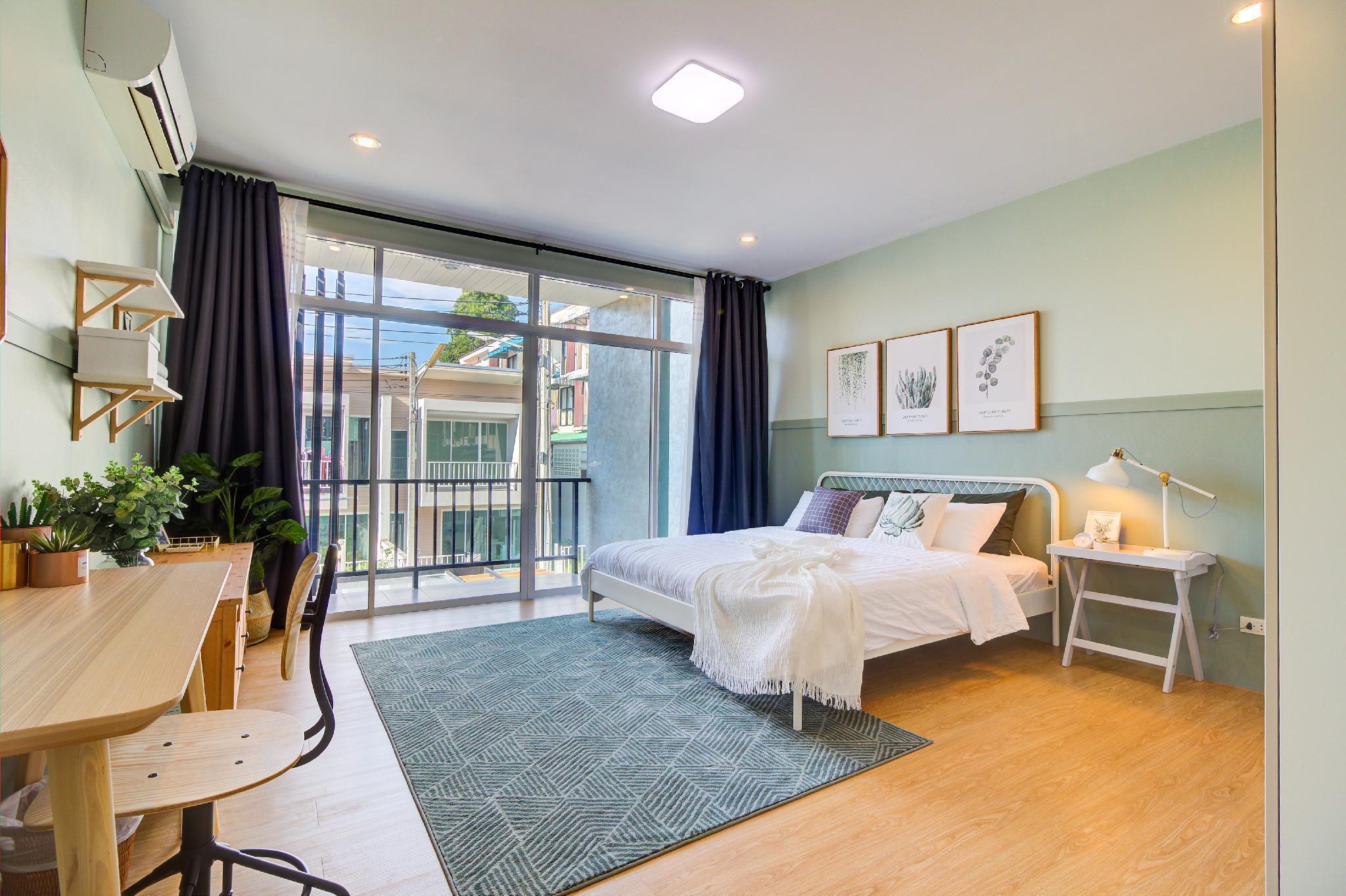 New Designer Home near Beach and Airport บ้านเดี่ยว 2 ห้องนอน 2 ห้องน้ำส่วนตัว ขนาด 100 ตร.ม. – สนามบินภูเก็ต