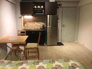 [市内中心部]スタジオ アパートメント(28 m2)/1バスルーム Opal Place #8@160m. from MRT PPL 11+150M wifi