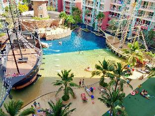 Grande Caribben Condo Resort Pattaya อพาร์ตเมนต์ 1 ห้องนอน 1 ห้องน้ำส่วนตัว ขนาด 36 ตร.ม. – พัทยาใต้