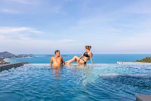 [チャウエンノーイ]ヴィラ(380m2)| 4ベッドルーム/4バスルーム Chaweng Noi Luxury Morden Style 4-BR Dream Villa