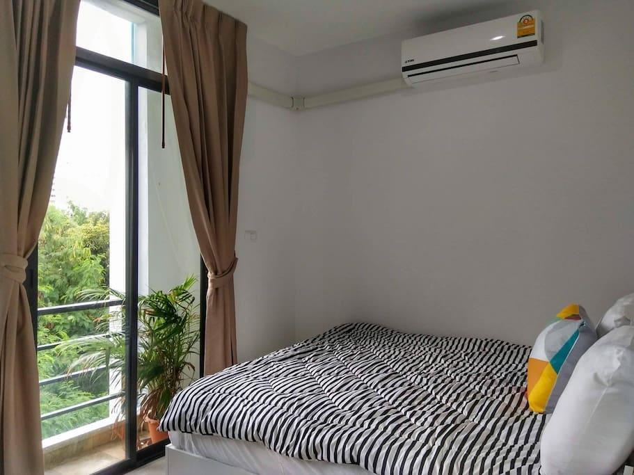 Baan der Bruyn3 อพาร์ตเมนต์ 1 ห้องนอน 1 ห้องน้ำส่วนตัว ขนาด 40 ตร.ม. – หาดจอมเทียน