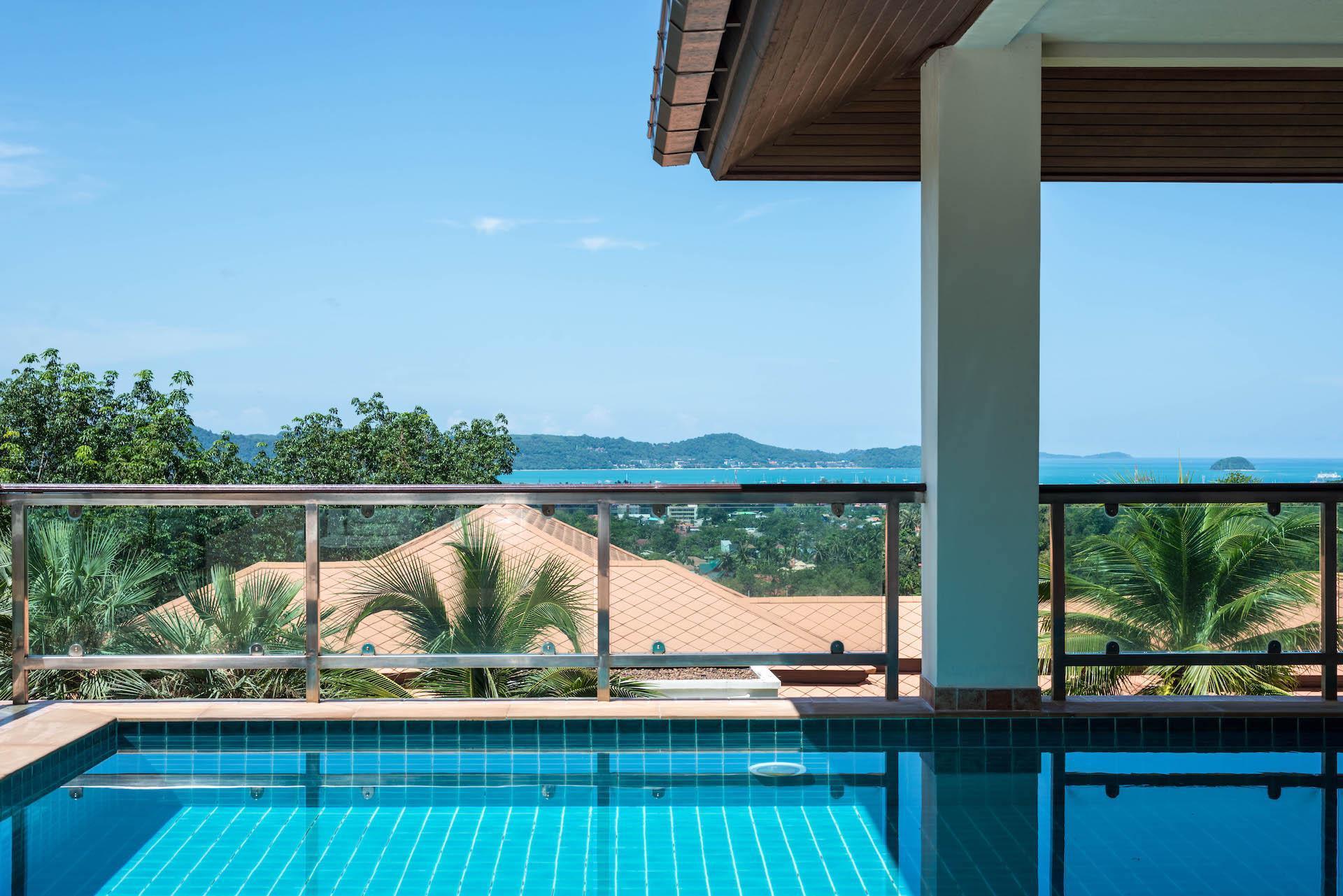 5 BDR Seaview Pool Villa Near Big Buddha Chalong