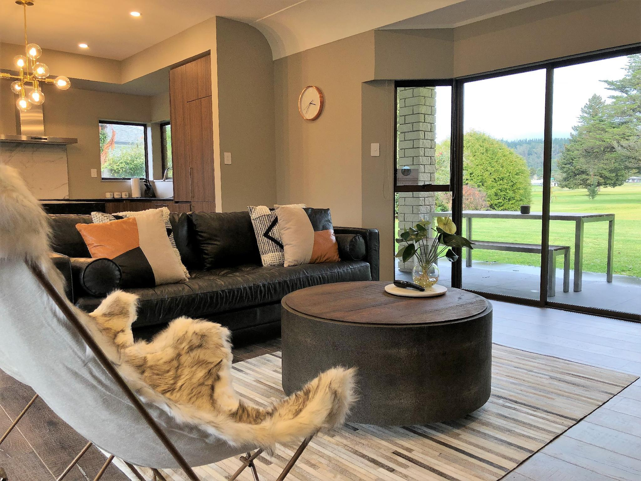 Luxury Golf Side Lodge With View   K Lodge Rotorua