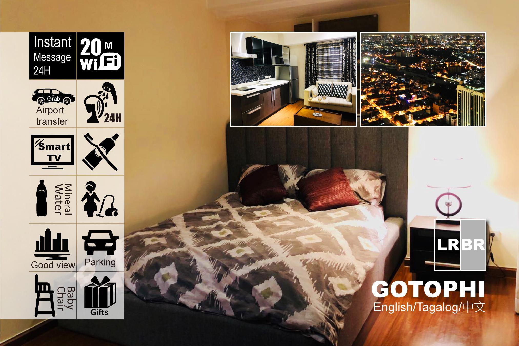 Gotophi 5Star Hotel 1BR Knightsbridge Makati 5813