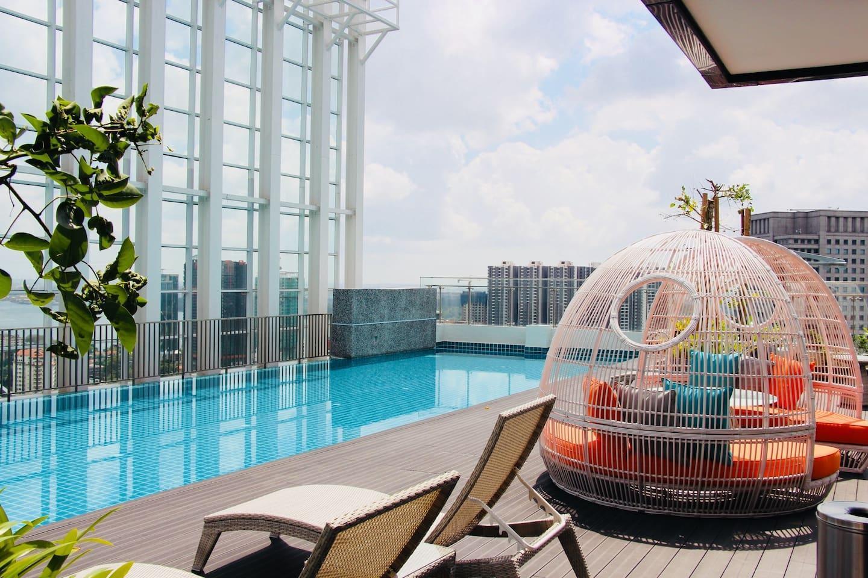 High Floor Suasana Suites 2105 In JB + WiF
