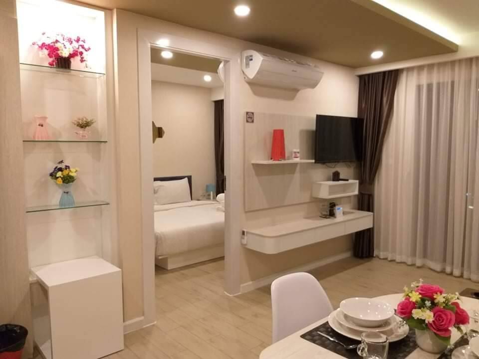 Seven Seas Condo Pattaya 1 Bed R01 อพาร์ตเมนต์ 1 ห้องนอน 1 ห้องน้ำส่วนตัว ขนาด 36 ตร.ม. – หาดจอมเทียน