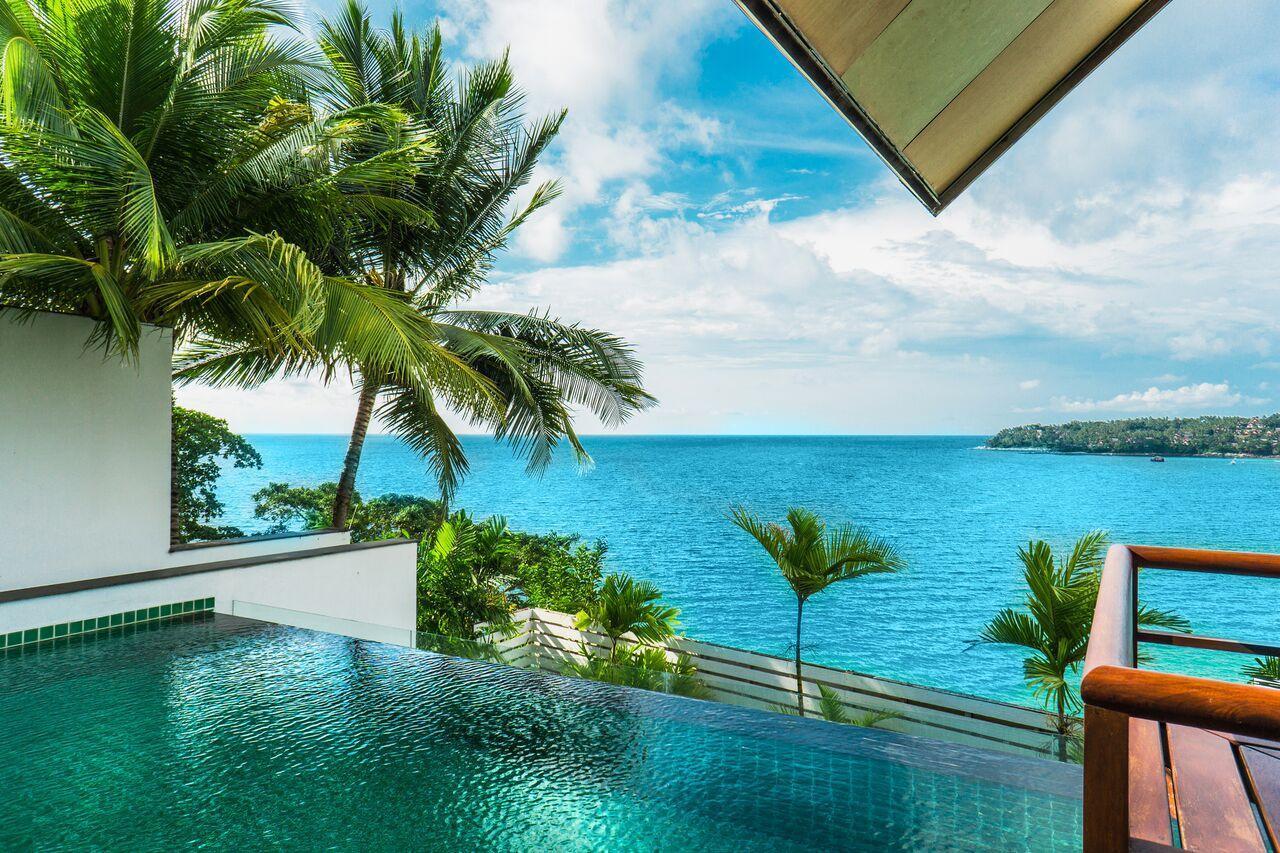 Surin Beach Ocean Front Villa With Infinity Pool