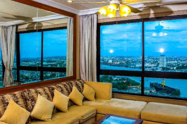 RIVERFRONT 2BR WITH AMAZING VIEW NEAR ASIATIQUE Bangkok