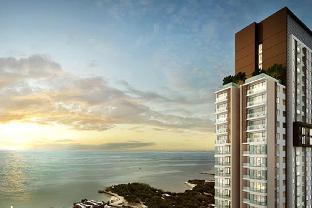[パタヤ南部]アパートメント(70m2)| 2ベッドルーム/2バスルーム #43 U LUX SEA VIEW 2 BDRM FAMILY SUITE,FAMILY POOL