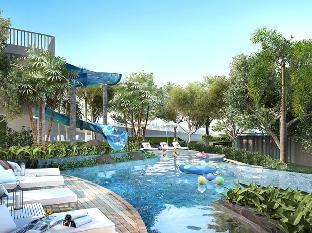 [パタヤ南部]アパートメント(70m2)| 2ベッドルーム/2バスルーム #40 U  LUX 2BDRM SEA VIEW FAMILY SUTE, FAMILY POOL