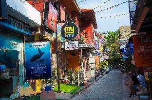 [サイリービーチ]アパートメント(17m2)| 1ベッドルーム/1バスルーム koh tao my hostel Family Seaview 6 bed - C3