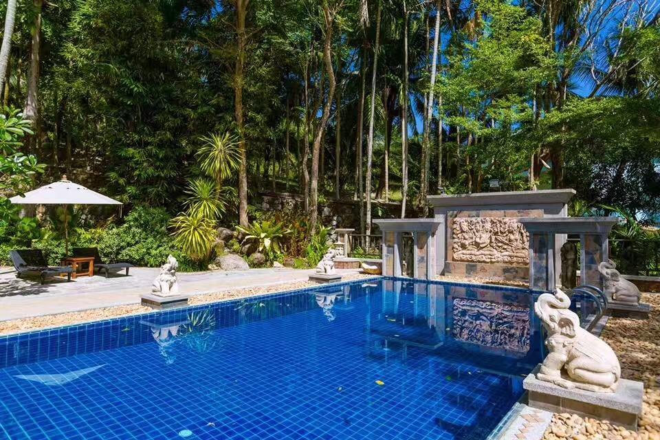 Cozy Luxurious Villa In Patong Pool Four Rooms