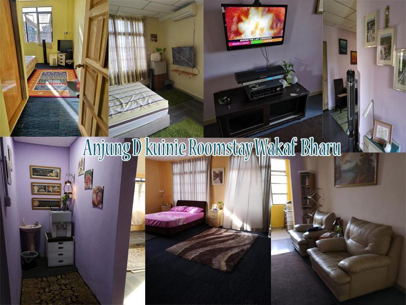 Wakaf Bharu Anjung D Kuinie Roomstay