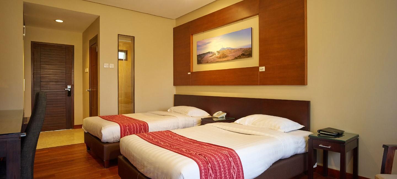 Deluxe Twin Room At Jiwa Jawa Bromo