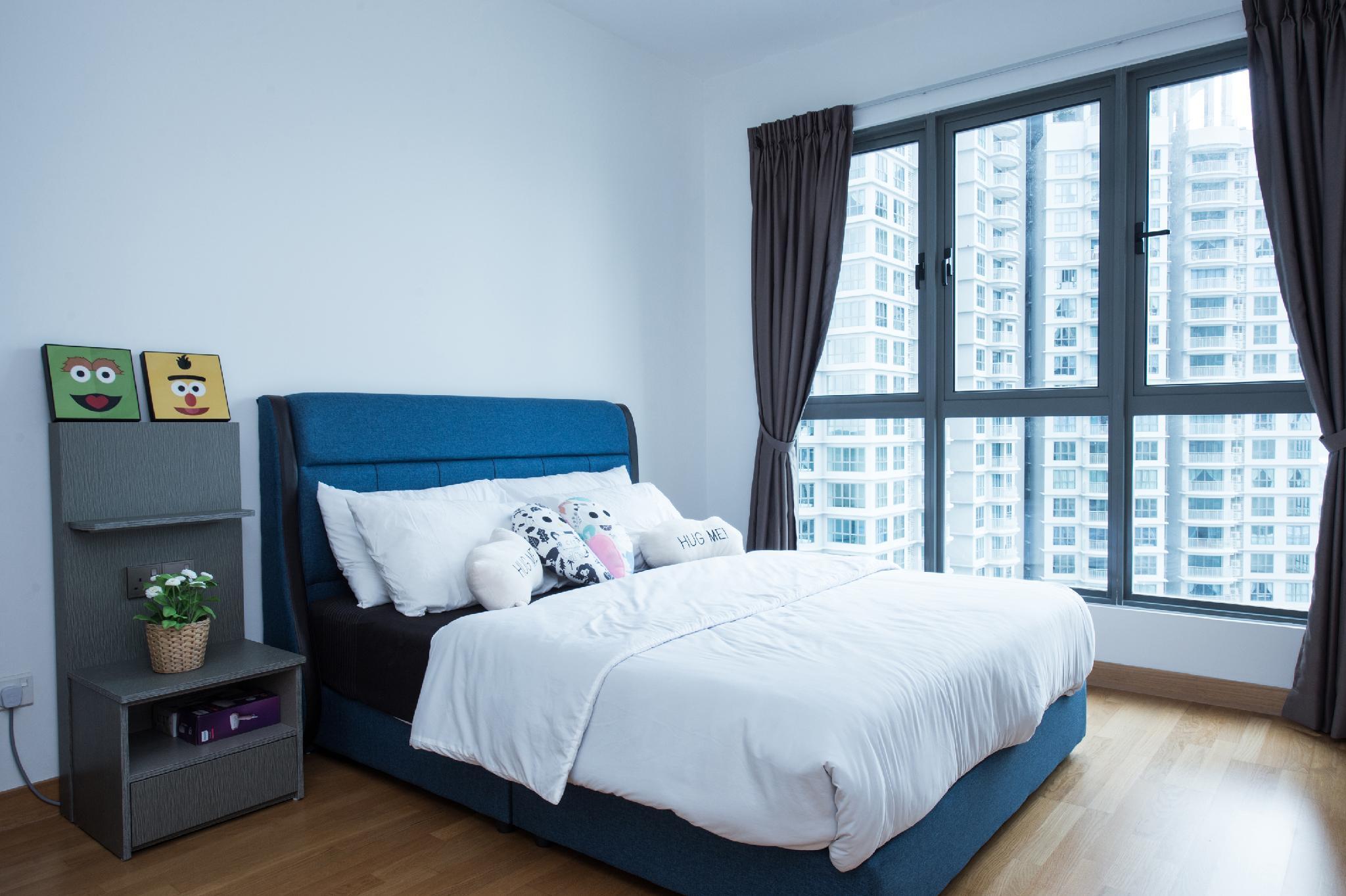 Teega Suites  1716  4Pax  Free Wifi @ JB City Home