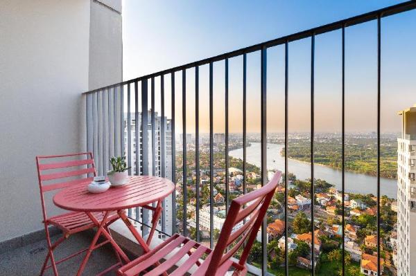 Ellie Apartment - 2PN View Sông Masteri Thảo Điền Ho Chi Minh City