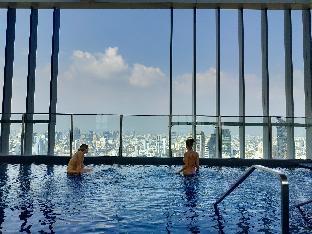 [スクンビット]アパートメント(30m2)  1ベッドルーム/1バスルーム Rooftop pool luxury cozy condo free wifi 793  @BTS