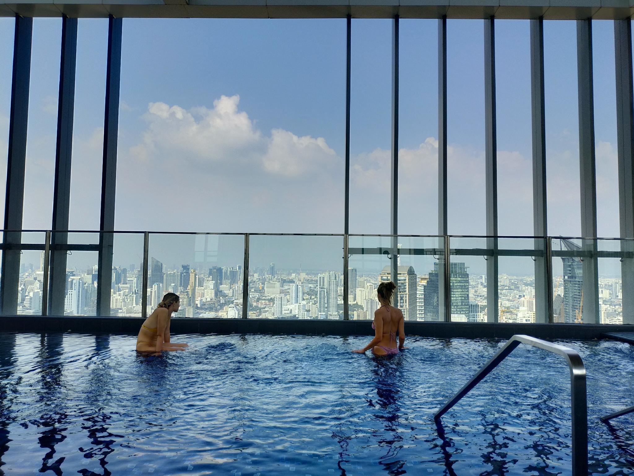 Rooftop pool luxury cozy condo free wifi 793  @BTS อพาร์ตเมนต์ 1 ห้องนอน 1 ห้องน้ำส่วนตัว ขนาด 30 ตร.ม. – สุขุมวิท