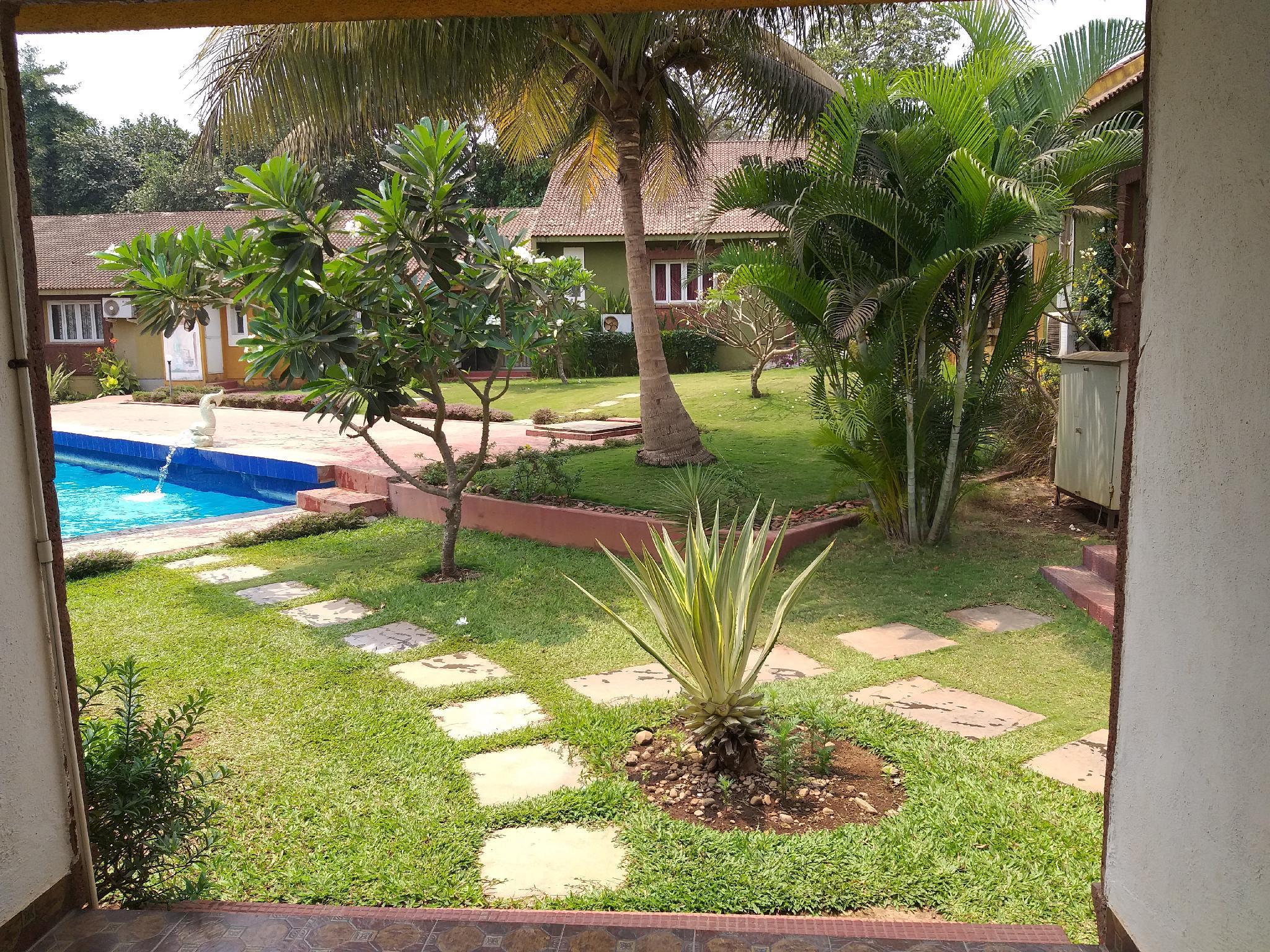 Pool Facing 2 Bhk Villa