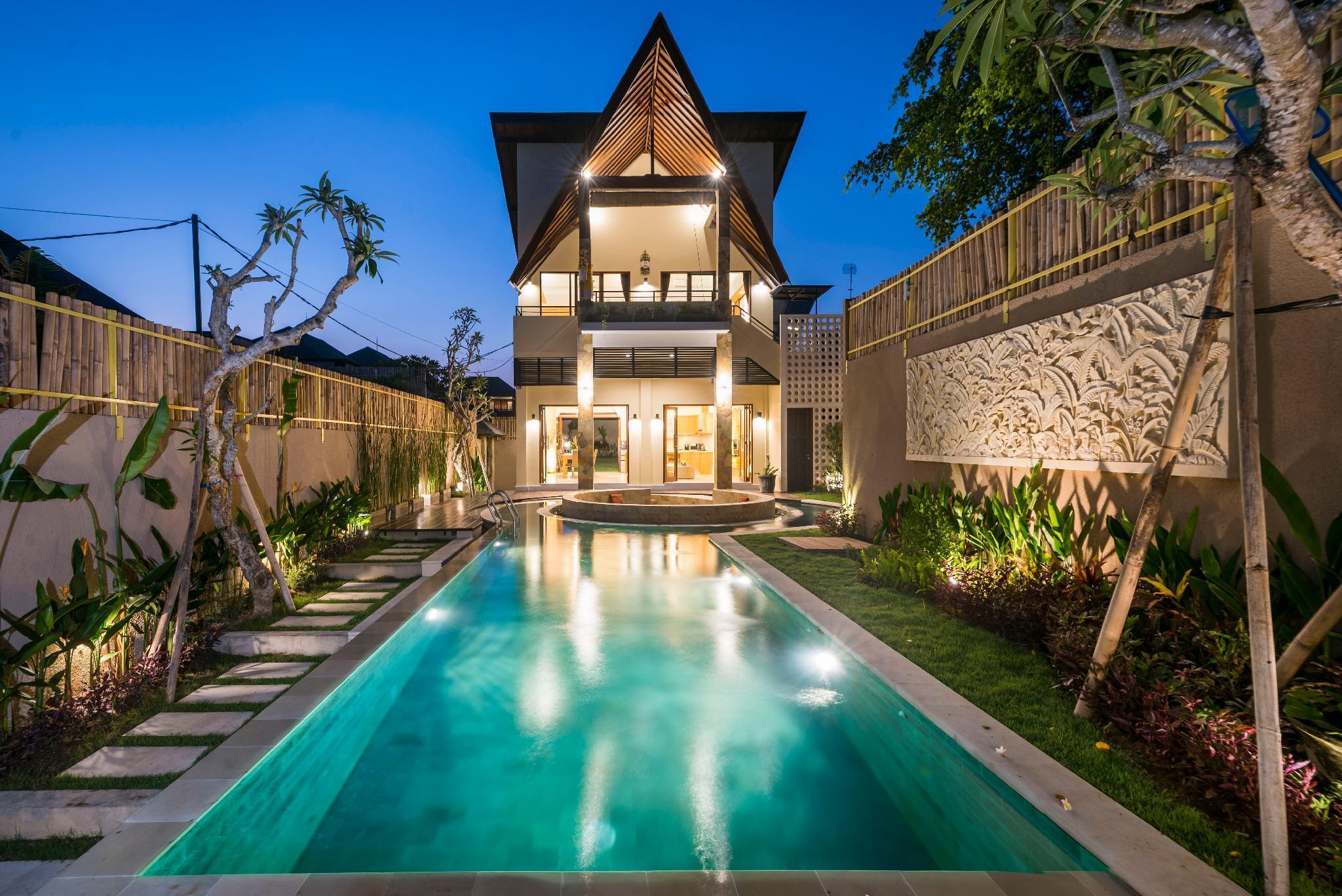 Villa COCO *BEACH 500m *LUXURY *HUGE POOL And GARDEN