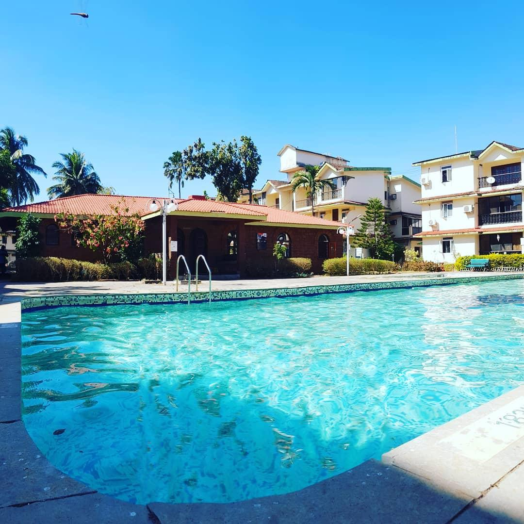 1 Bedroom Apartment With Pool In Calangute