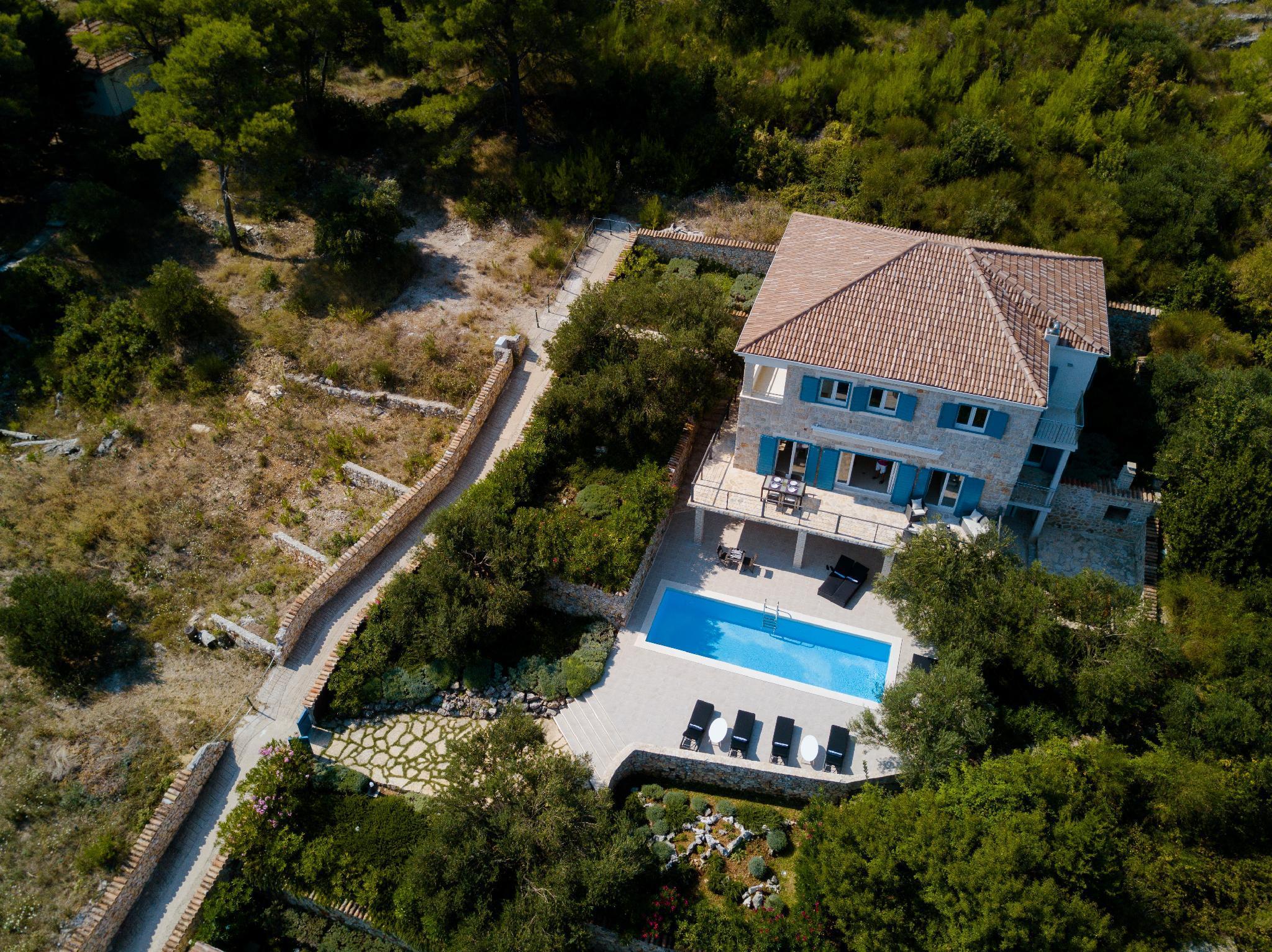 Villa Marceline On A Paradise Island