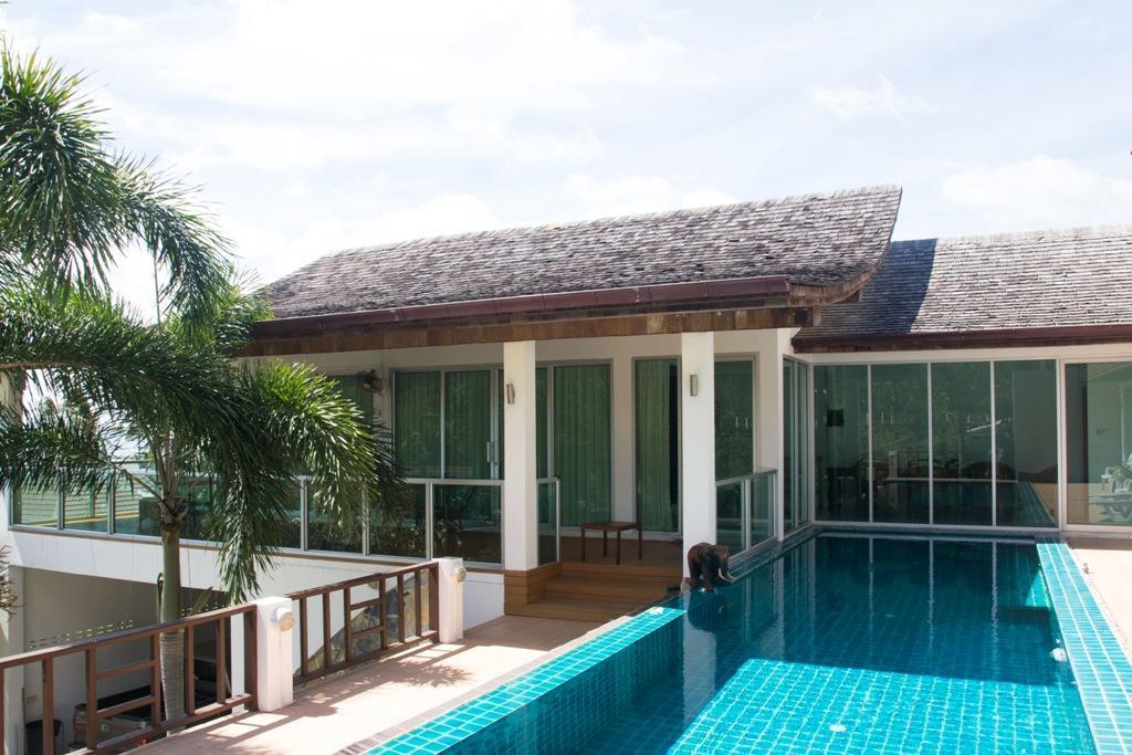 SUNSHINE POOL VILLA LAMAI วิลลา 4 ห้องนอน 5 ห้องน้ำส่วนตัว ขนาด 370 ตร.ม. – หาดละไม