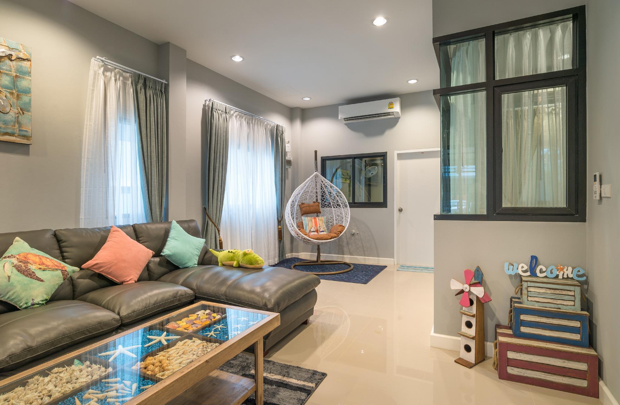 Krabi sweety home บ้านเดี่ยว 4 ห้องนอน 3 ห้องน้ำส่วนตัว ขนาด 120 ตร.ม. – ตัวเมืองกระบี่