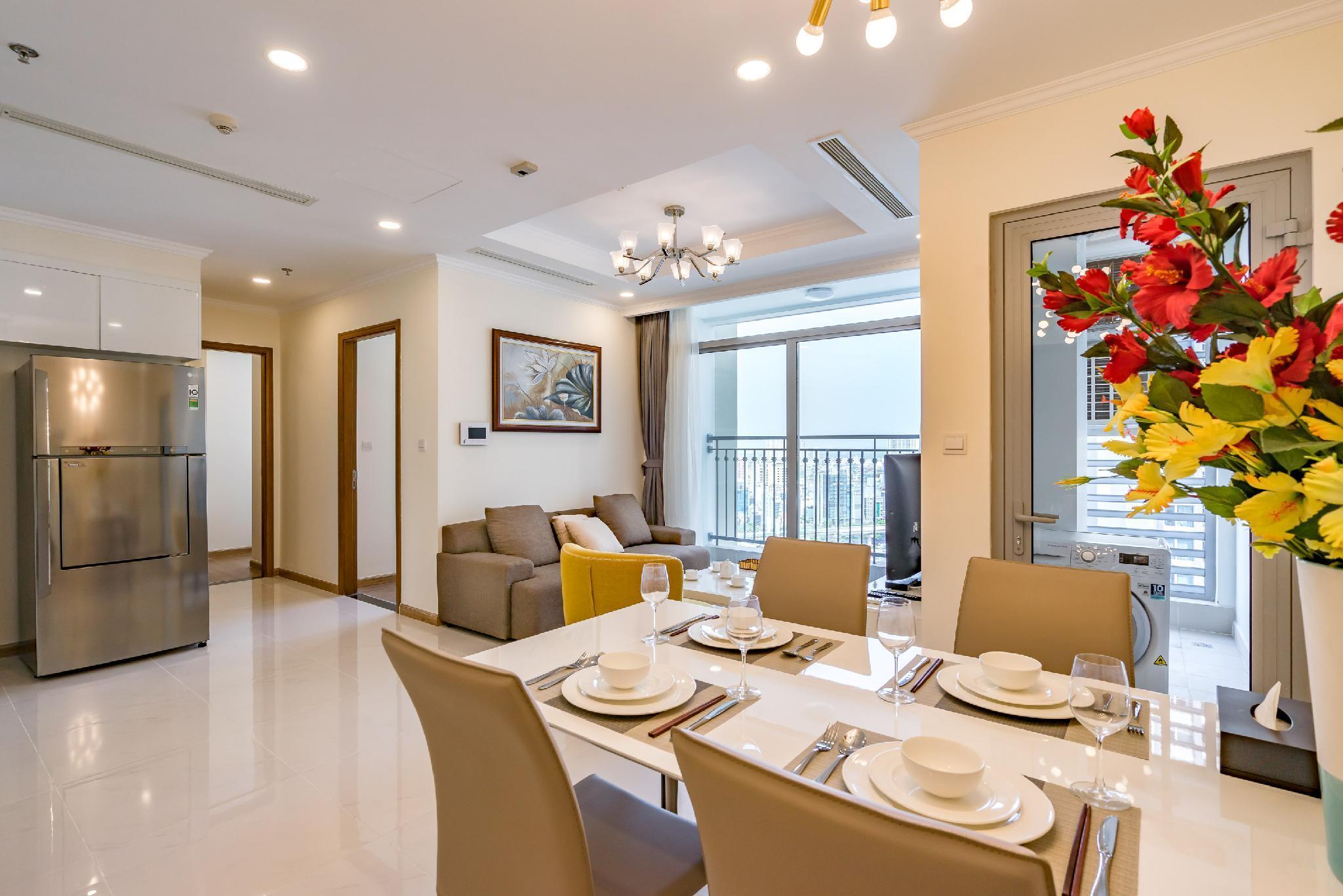 Ho Chi Minh Central CityandRiver Apartment 2 Br 1604
