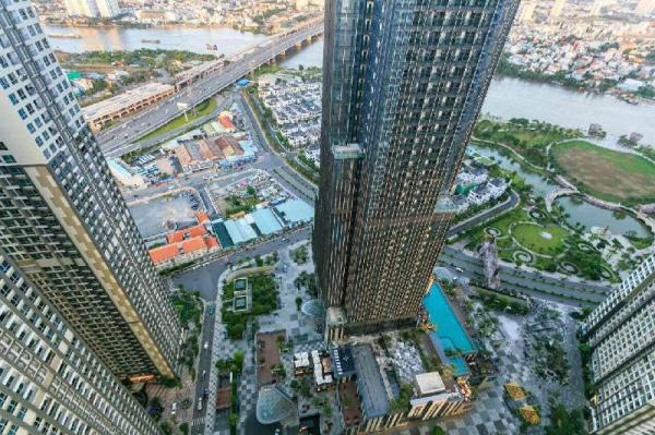 Vinhome Apartments (the tallest in Vietnam) Ho Chi Minh City