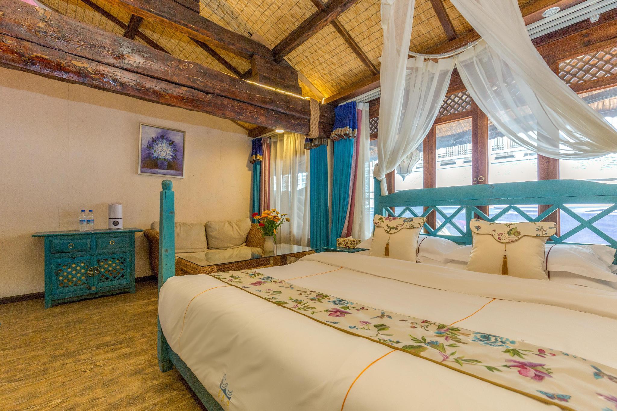 Blue Honeymoon Suite