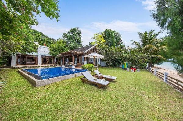 The Emerald Cozy Beach Family Villa 4 w/ Jacuzzi Koh Samui