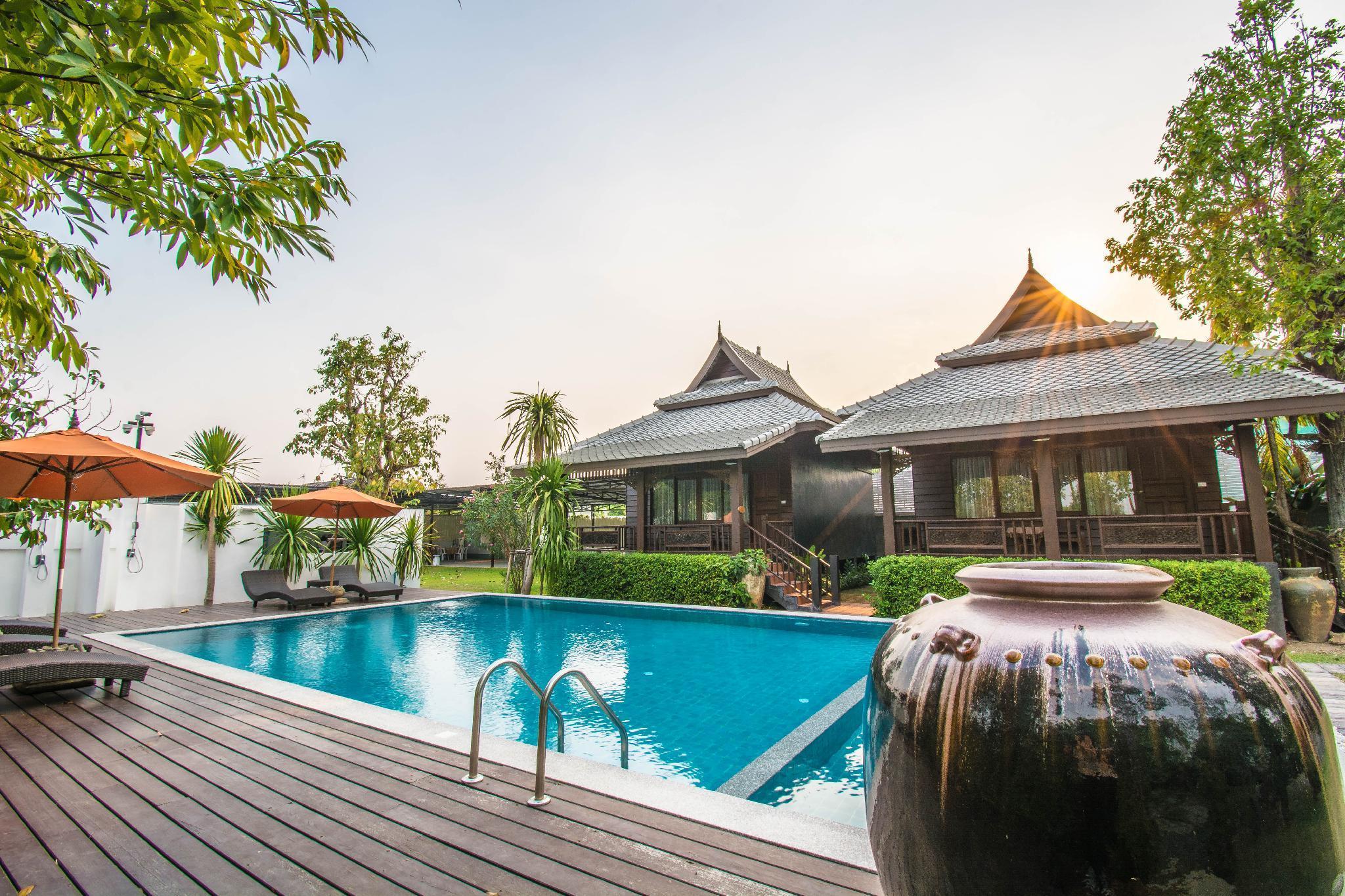 Chiangmai Yunhe Cozy Resort(清迈云和怡养度假村) วิลลา 1 ห้องนอน 1 ห้องน้ำส่วนตัว ขนาด 50 ตร.ม. – หางดง
