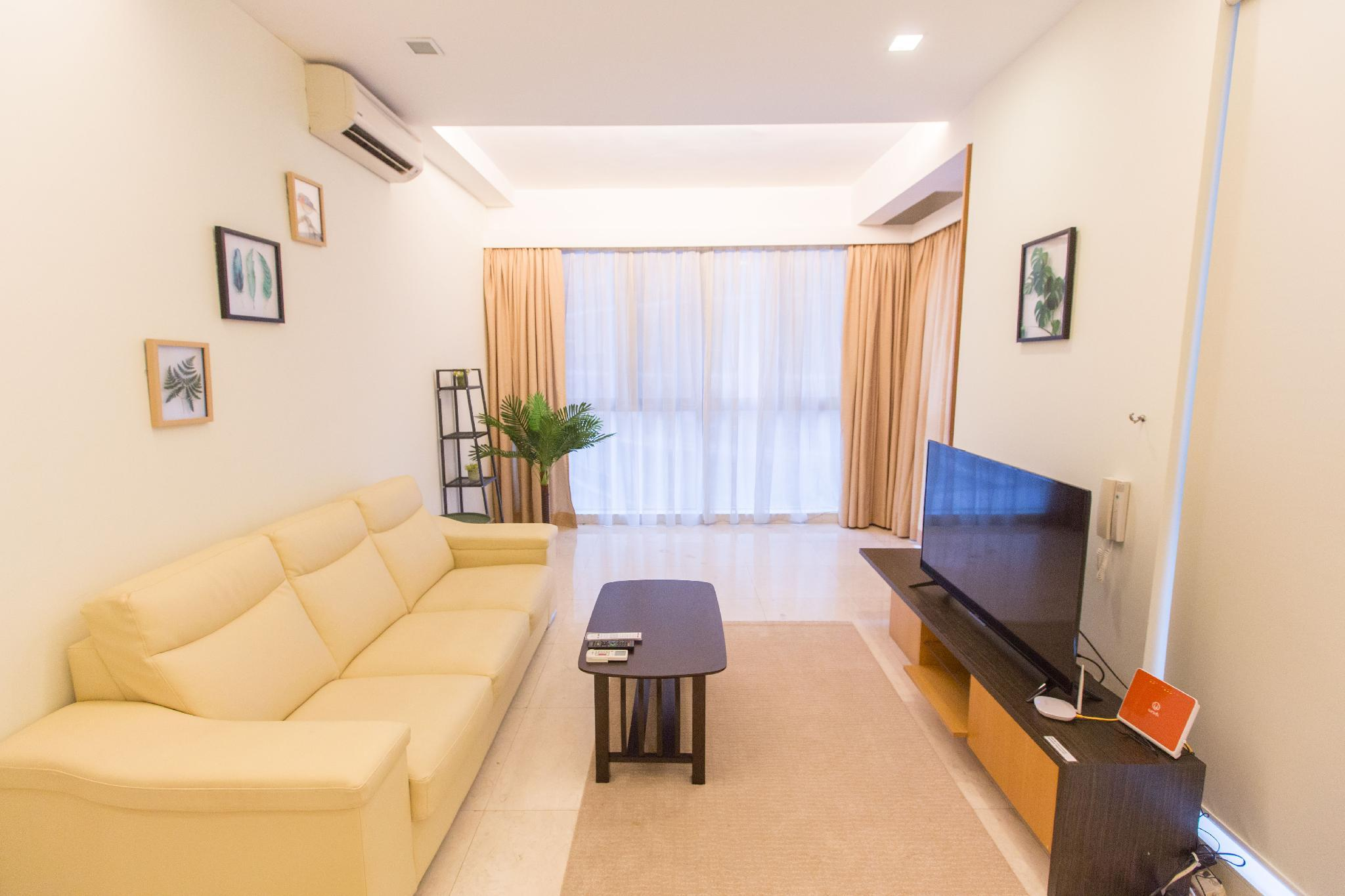 Comfy 2 BR Apartment For 5 P. 2 Min. To KLCC  A3