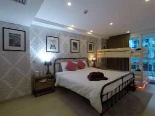 [パタヤ中心地]アパートメント(55m2)| 1ベッドルーム/2バスルーム #5 DOWNTOWN CENTARA AZURE FAMILY SUITE WATER PARK
